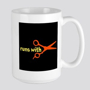 Runs with Scissors Large Mug