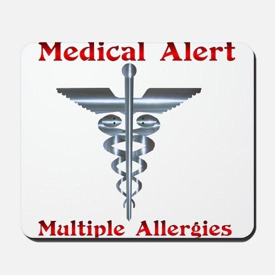 Medical Alert Multiple Drug A Mousepad