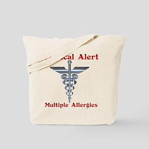 Medical Alert Multiple Drug A Tote Bag