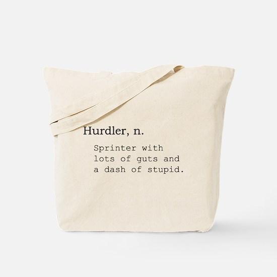 Hurdler Tote Bag
