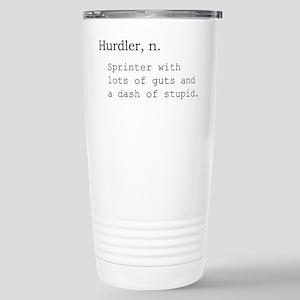 Hurdler Stainless Steel Travel Mug