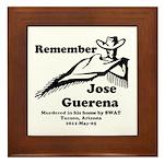 Remember Jose Framed Tile