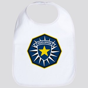 Police Officer Star Badge Bib