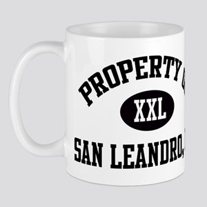 Property of San Leandro Mug