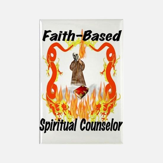 Spiritual Counselor Rectangle Magnet