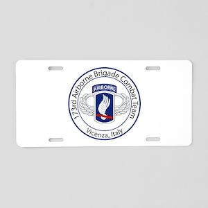 173rd Airborne Aluminum License Plate
