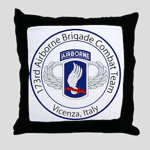 173rd Airborne Throw Pillow