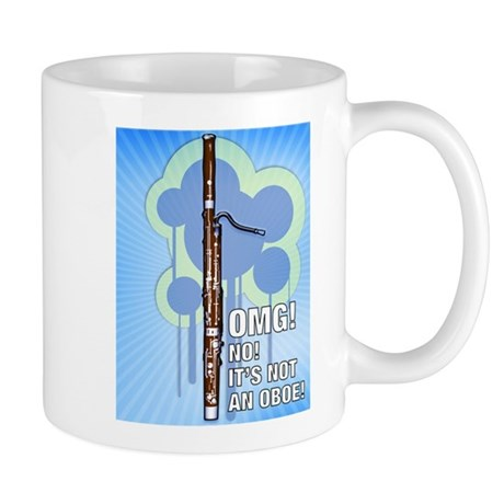 OMG! It's Not an Oboe! Bassoon Mug