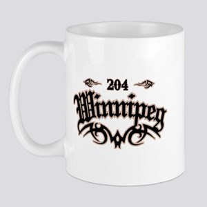 Winnipeg 204 Mug