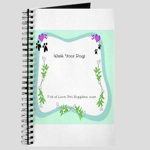 Walk Your Dog Journal