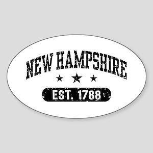 New Hampshire Sticker (Oval)