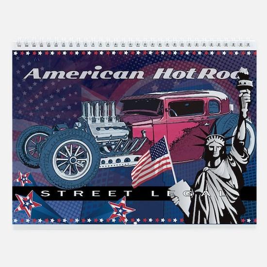 American HotRod Wall Calendar