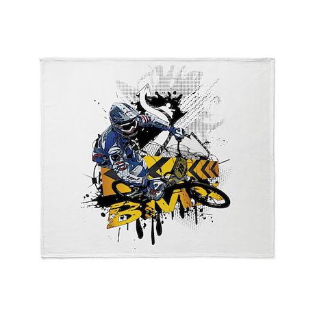 BMX Underground Throw Blanket