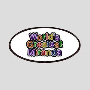 World's Greatest Miranda Patch
