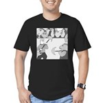 The Coliseum (no text) Men's Fitted T-Shirt (dark)