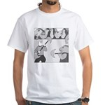 The Coliseum (no text) White T-Shirt