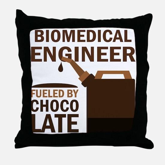 Funny Biomedical Engineer Throw Pillow