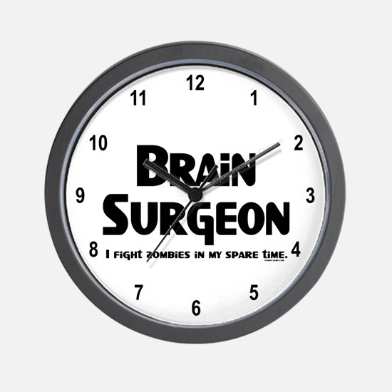 Brain Surgeon Gamer Wall Clock