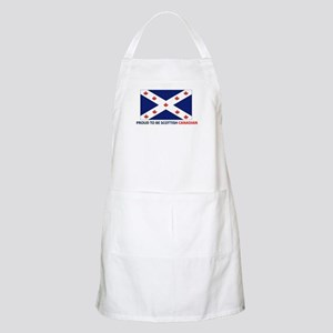 Proud to be Scottish Canadian BBQ Apron