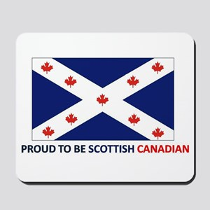 Proud to be Scottish Canadian Mousepad