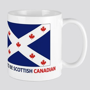 Proud to be Scottish Canadian Mug