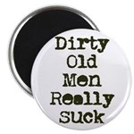Dirty Old Men Really Suck Magnet