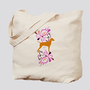 Red Headed Weims! Tote Bag