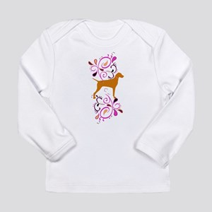 Red Headed Weims! Long Sleeve Infant T-Shirt