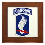 173rd Airborne Bde Framed Tile