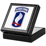 173rd Airborne Bde Keepsake Box