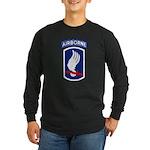 173rd Airborne Bde Long Sleeve Dark T-Shirt