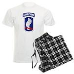 173rd Airborne Bde Men's Light Pajamas