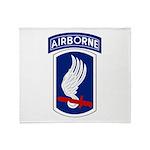 173rd Airborne Bde Throw Blanket