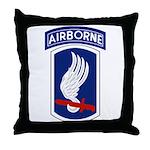 173rd Airborne Bde Throw Pillow