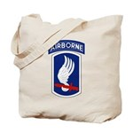 173rd Airborne Bde Tote Bag