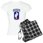 173rd Airborne Bde Women's Light Pajamas