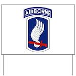 173rd Airborne Bde Yard Sign