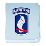 173rd Airborne Bde baby blanket