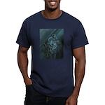 Wolves Men's Fitted T-Shirt (dark)