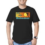 Bahamas Men's Fitted T-Shirt (dark)