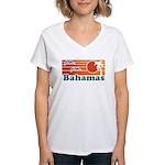 Bahamas Women's V-Neck T-Shirt