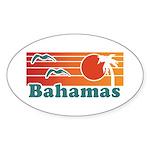 Bahamas Sticker (Oval)