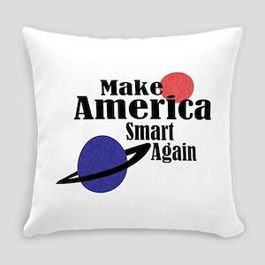Make America Smart Again Everyday Pillow
