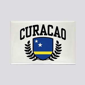 Curacao Rectangle Magnet