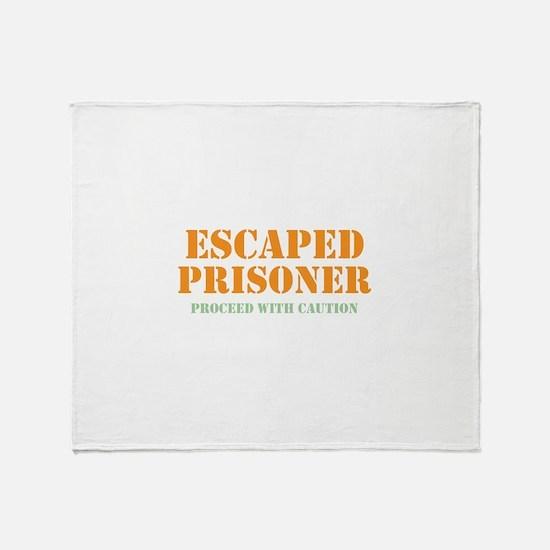 Unique Prisoner Throw Blanket