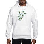 Blossoms Hooded Sweatshirt