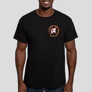 Please Help... Men's Fitted T-Shirt (dark)