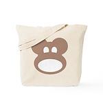 Monkeyhead Tote Bag with Logo Back