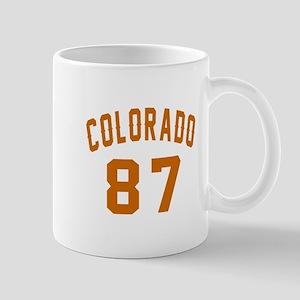 Colorado 87 Birthday Designs 11 oz Ceramic Mug