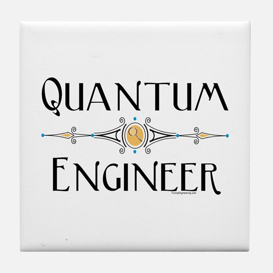 Quantum Engineer Line Tile Coaster